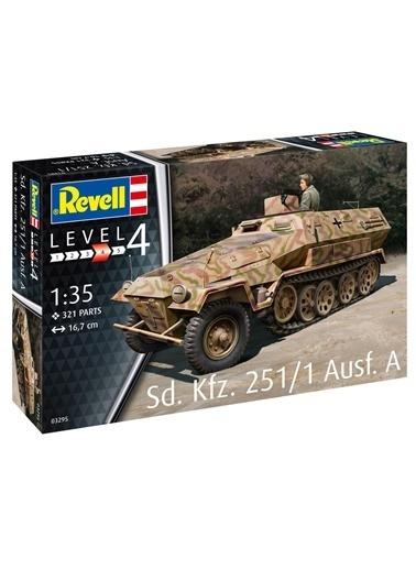Revell  Maket Sd Kfz 251-1 Ausf A Vso03295 Renkli